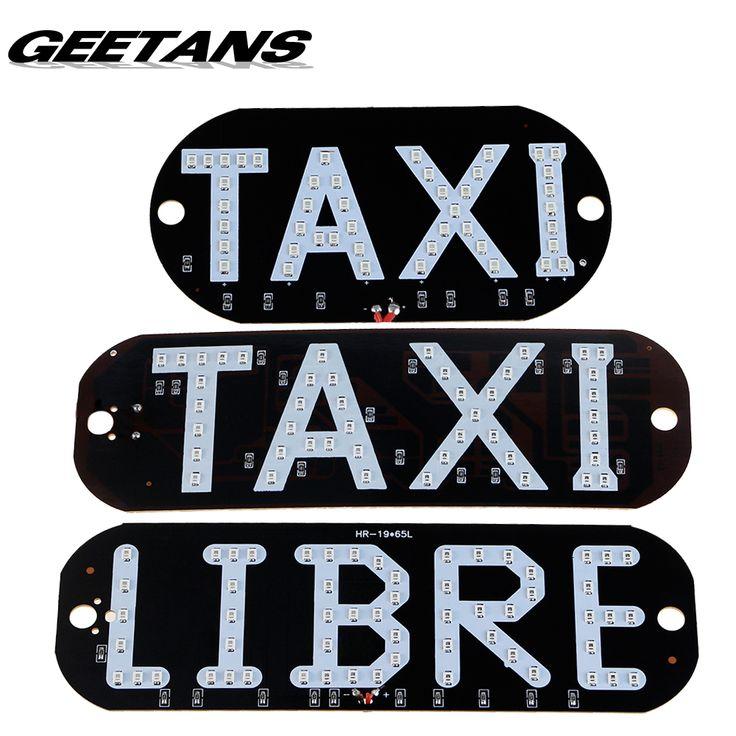 GEETANS 1 шт. Такси Libre Светодиодный номерного знака carligh Ветрового Кабина индикатор внутри Лампы Световой сигнал Лобовое Стекло Лампы 12 В AJ