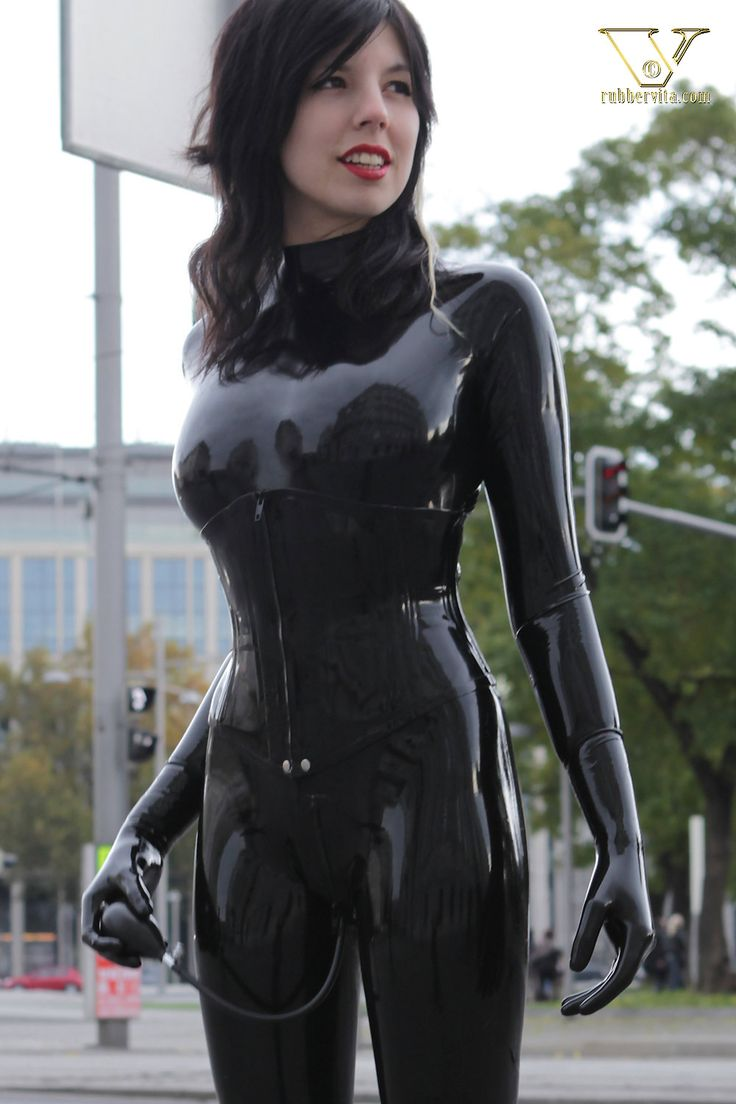Advise you Black women in latex for