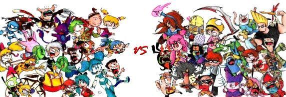 Cartoon Characters Early 2000s : Early s nick vs cartoon network best