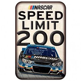 Roush Automotive Collection Store - Nascar Speed Limit 200 Sign (3654), $13.50 (http://store.roushcollection.com/gift-ideas/nascar-speed-limit-200-sign-3654/)