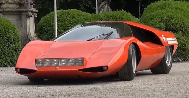 Abarth 2000 (Pininfarina), 1969 - Hledat Googlem