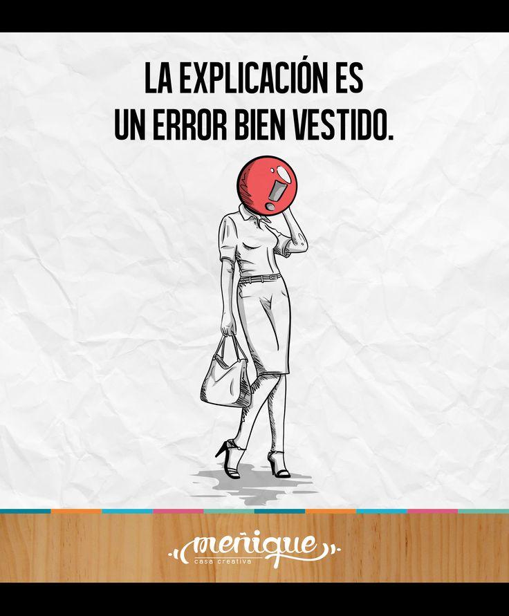 ''La explicación es un error bien vestido''. Cortázar. Meñique Casa Creativa #somosmenique #ilustradorescolombianos #juliocortazar