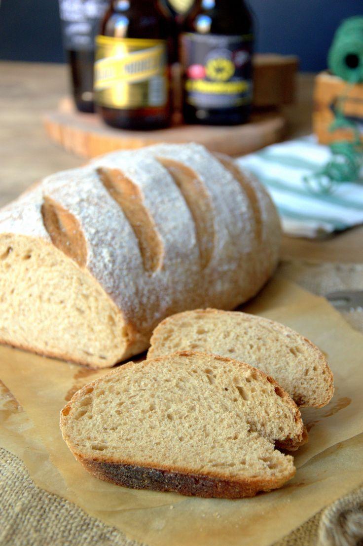 Pan de Cerveza Negra, receta detallada paso a paso para conseguir un pan de un sabor delicioso.