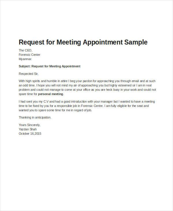 49 appointment letter exles sles pdf doc Cute Pinterest - sample letter of appointment