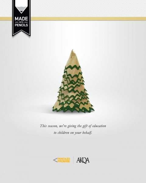 Akqa doing something good with their holiday card the for San francisco advertising agencies