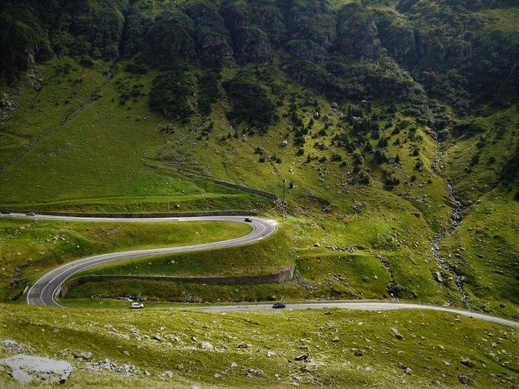 Transfagarasan. #Transfagarasan #romania #highway #green #fagaras #mountains
