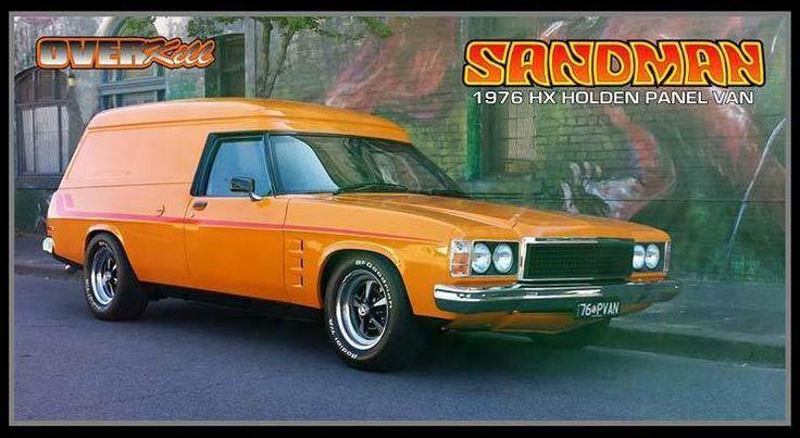 HX Holden Sandman Panelvan