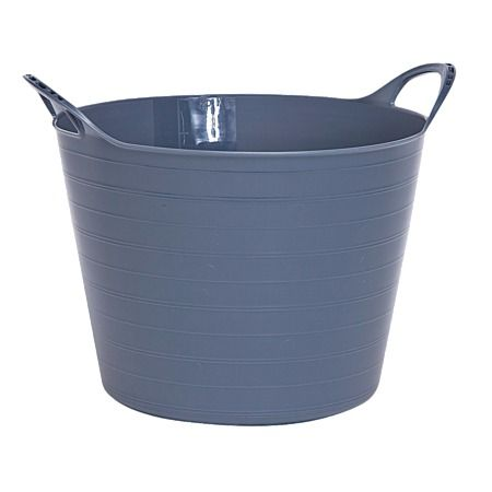 Italio flexi tub from the Warehouse. I use these tubs instead of laundry baskets, and they are also pretty handy for quick decluttering jobs, blitzing through tidying before visitors arrive, or anywhere you'd need a boring bucket. The shape is not practical for, say, permanent toy storage in the living room, but the lightweight, flexible design is a winner in the laundry.