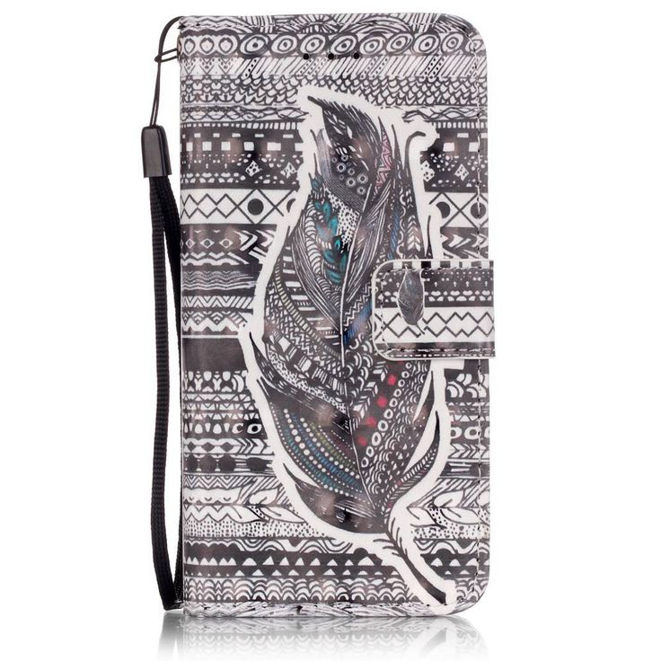 Wallet Flip PU Leather Case for iPhone5/5S/SE/6/6S/6 Plus/6S Plus/7 for iPod5/6 with colorful 3D print pictures phone case bag - free shipping worldwide