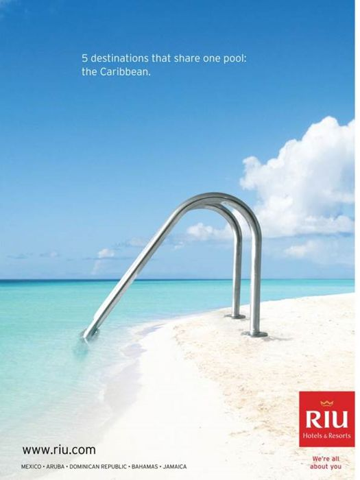 RIU Hotels Resorts Pool Ads Of The WorldTM