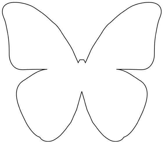 Moldes para hacer mariposas de papel faciles - Ideas de Manualidades