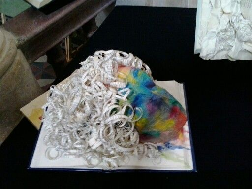 Scultura di carta Art book