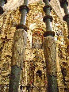 El Espectacular Retablo Mayor de la Catedral de Coria.