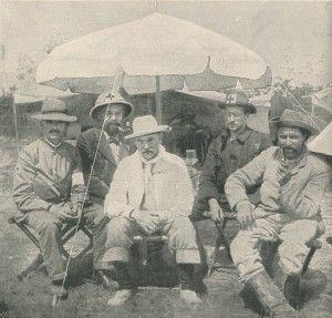 Boer medical staff at Spion Kop