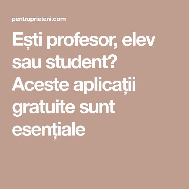 Ești profesor, elev sau student? Aceste aplicații gratuite sunt esențiale