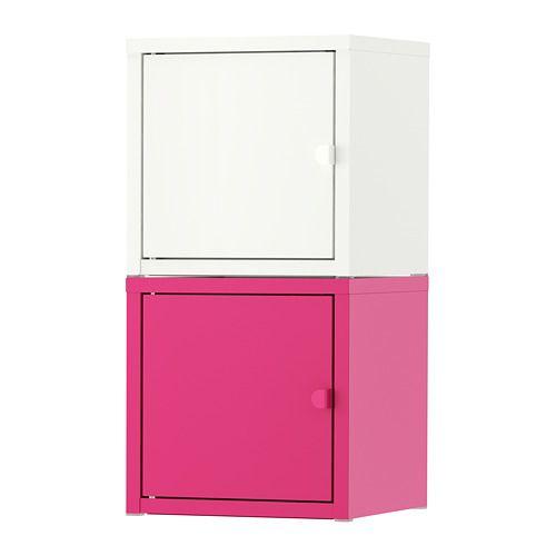 "LIXHULT Storage combination, white, pink - 9 7/8x19 5/8 "" - IKEA"