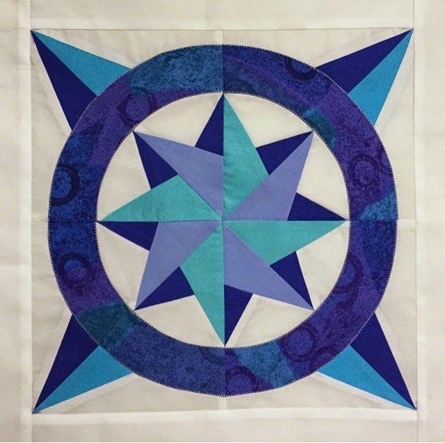パッチワーク キルト Patchwork Quilt Felisa Quilts : Blue青の日