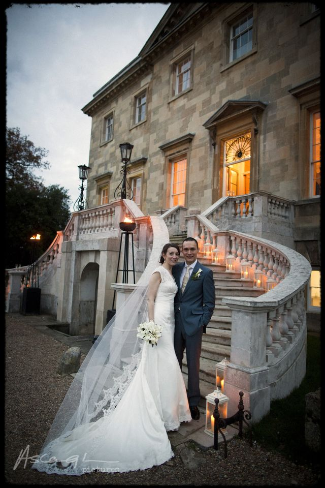Wedding at Botleys Mansion by Jeff Ascough