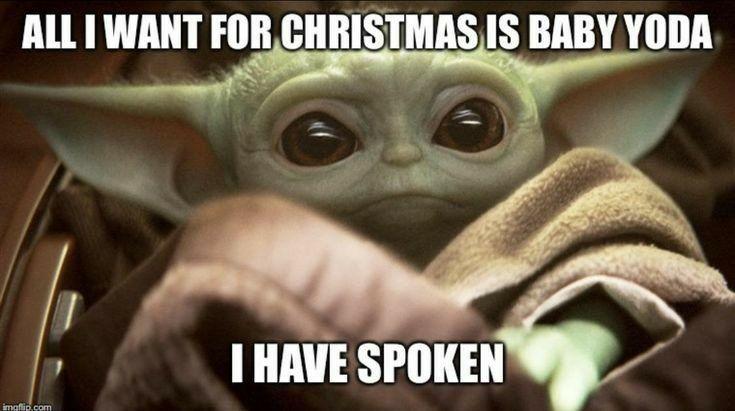 10 Baby Yoda Memes For Christmas Yoda Funny Yoda Meme Christmas Memes