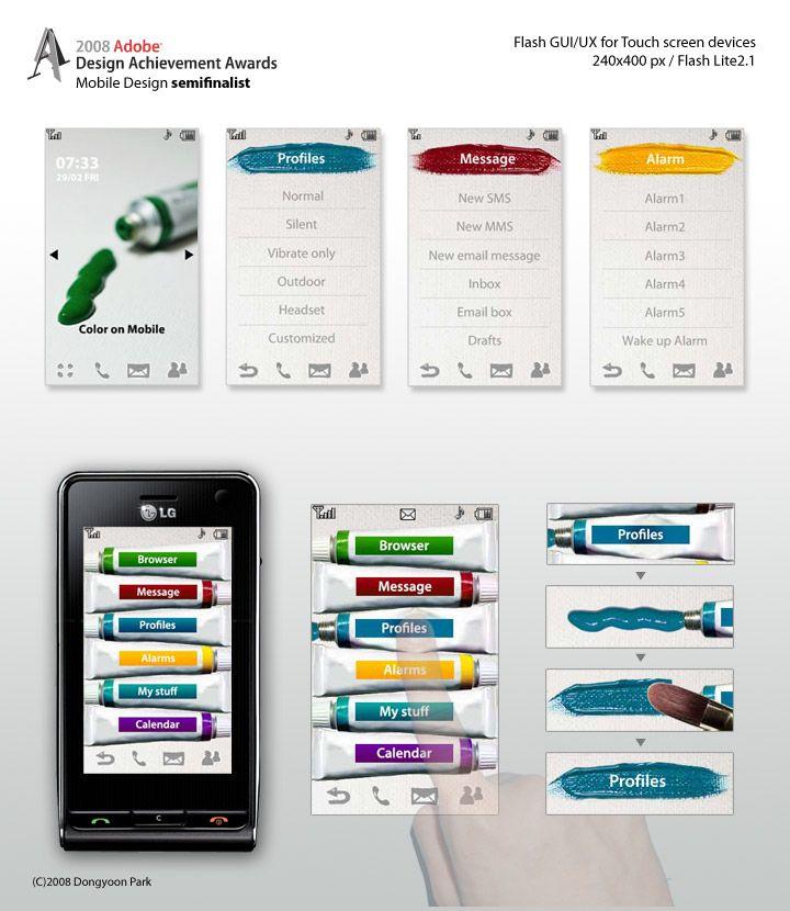 Adobe mobile design..