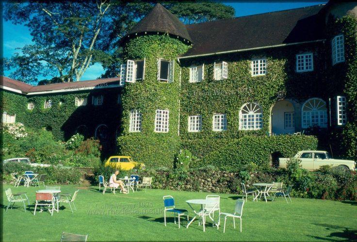 Breakfast at Leopard Rock Hotel, Vumba, Rhodesia 1975