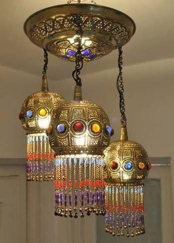 Morrocan light fixture....don't know why but i seriously love this