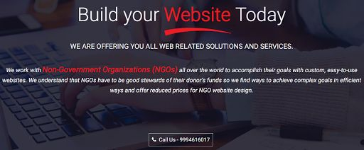 We offer the recent and high-quality website designing techniques for your NGOs website. Contact our website development company in Mumbai for more details