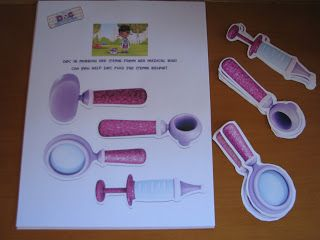 Doc McStuffins party game- this site has all the info for an awesome party!!!