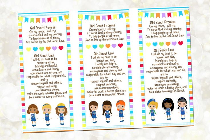 Mejores 19 imágenes de Girl Scouts.:.Printables en Pinterest ...