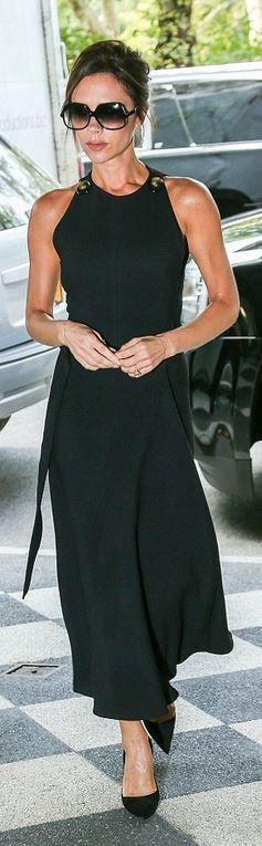Victoria Beckham: Sunglasses – Cutler and Gross  Dress – Victoria Beckham Collection