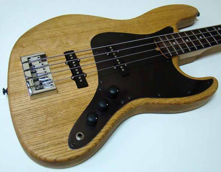 Mighty Mite Solid American Ash Body, Anodized Aluminum