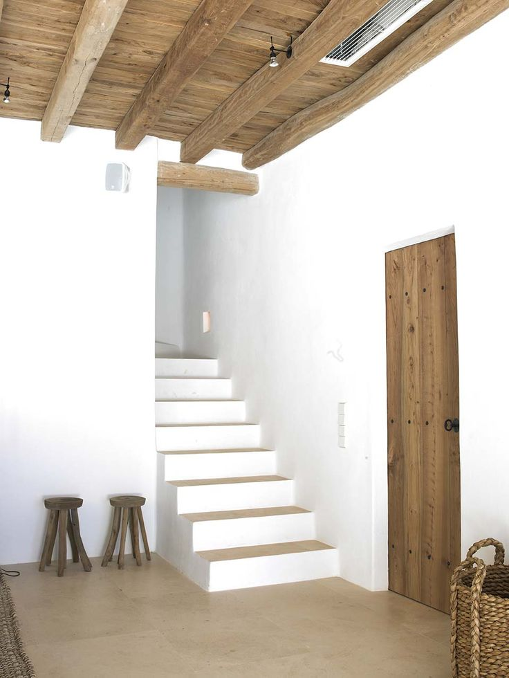 Oh my goodness - totally similar to your stairs going up and turning the corner with a wall right there! :)