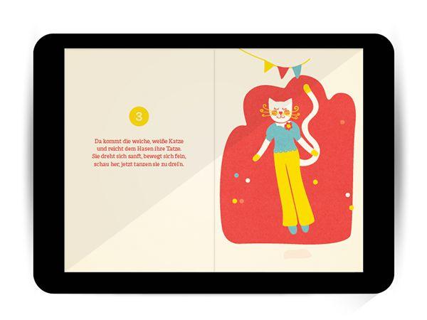 Das Äffchen lädt zehn Tiere zum Tanzen ein, den Frosch, den Löwen und sogar eine Schnecke. Alle tanzen auf ihre Weise und doch gemeinsam. Ein Buch zum Zuhören und Vorlesen, mit fröhlichen, kindgerechten Bildern und lustigen Versen, bei denen sich Kinder kringelig lachen. Eltern können das Buch ihren Kindern selbst vorlesen oder einfach die von einer professionellen Sprecherin eingesprochenen Verse abspielen. So oder so – selten machte das Zählen-Lernen so viel Spaß! Ein Hör-Lesebuch.