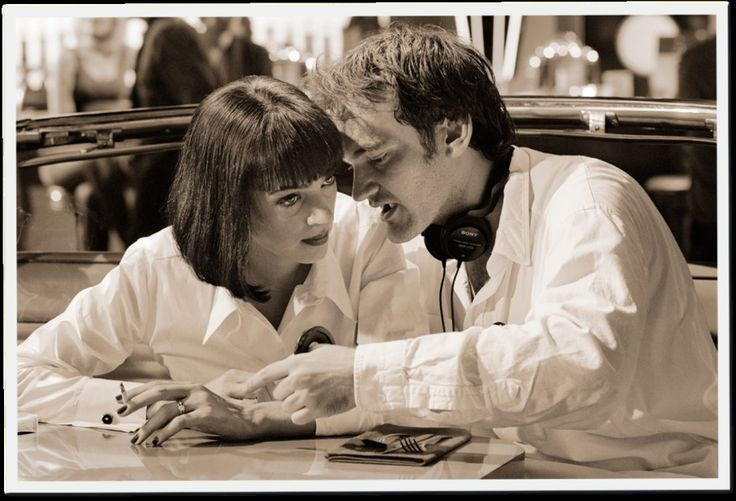The Making of Pulp Fiction in Stills, Snapshots, and Script Pages