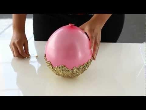 donneinpink magazine: Centrotavola svuotatasche con glitter facilissimo