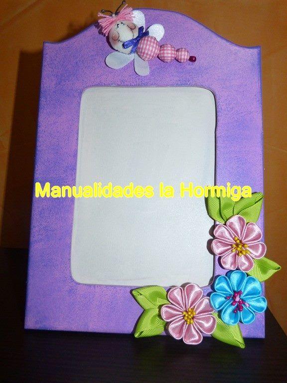 Manualidades y creaciones: portaretrato decorado con ...