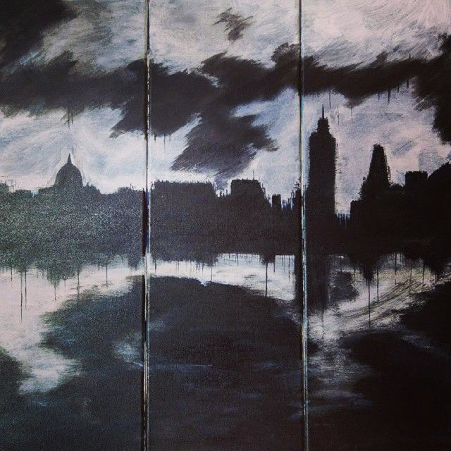 DARK LONDON #art #artist #artoftheday #painting #canvas #acrylics #handpainted #london #vintage #forsale #instalovers #instamood #instacollage #instagram #hipstamatic #bestshot #bestshotoftheday #bestpicoftheday #bestshotoftheday #thedailytype #worldsgreatestart #helloartgallery #thefinelab #theabundantartist