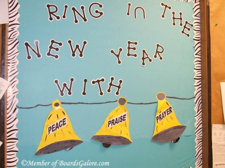 New Year's Bulletin Board...ring in the new year with our