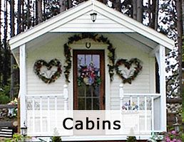 Tiny house plans, small cabin kits, cottage plans and shed kits. All are made in Vermont and shipped free to the lower 48 States and eastern Canada.
