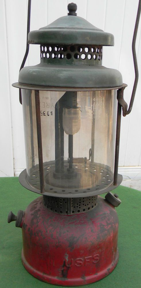 Rare 1930's Coleman United States Forest Service USFS Quick Lite Lantern #Coleman