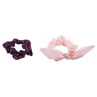 Remington Girls' Scrunchies, Pink