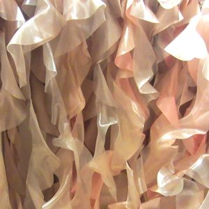 Wildflower Linen - TABLE LINEN Curly Willow Blush