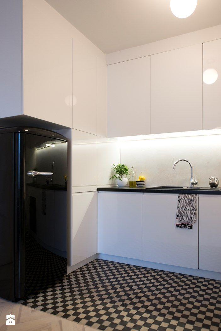 Kuchnia w stylu retro - zdjęcie od DZIURDZIAprojekt