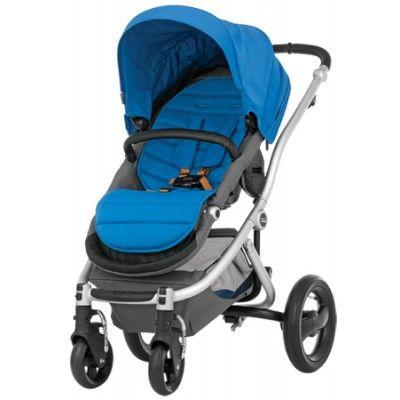 Britax Römer Affinity Travel Sistem Bebek Arabası Blue Sky - Silver Şasi