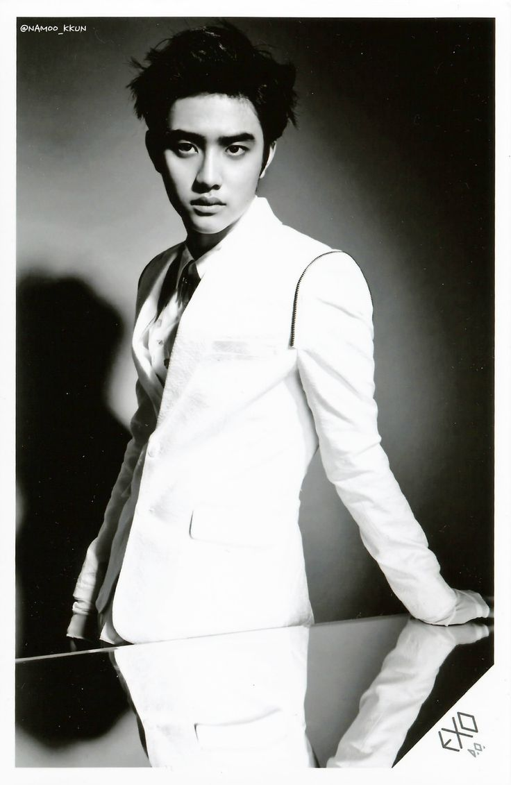 Kyungsoo growl photoshoot