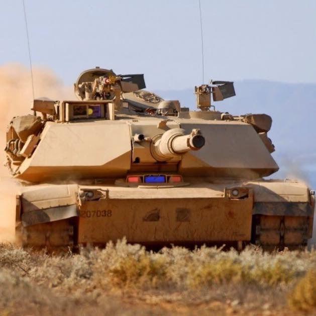 Tank M1A1 Abrams