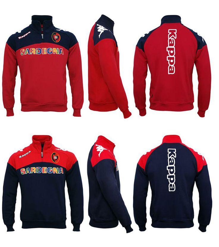 Neu Kappa Training Sweatshirt Cagliari Calcio Saison 2012/13
