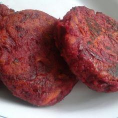 Cocinando con Sencillez: Hamburguesas de Remolacha y Zanahoria.
