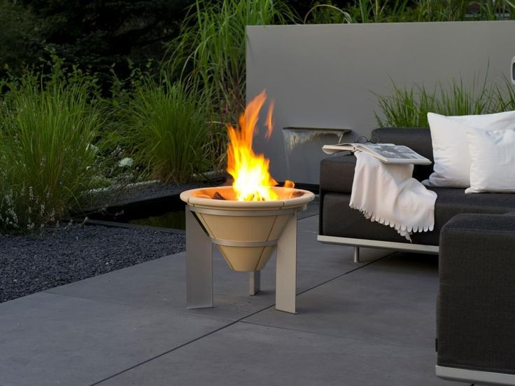 The Range Fire Pit Part - 48: The Comfy Brazier Fire Pit, The Most Popular Ceramic Fire Pit In The Denk  Range. The Denk Ceramic Braziers Are Unique, Constructed From A Ceramic  Material ...