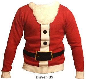 Mens Christmas jumper santa sweater S,M,L,XL,XXL Sweater Round Neck Novelty | eBay